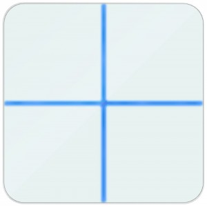 AeoTec Wallmote Quad - Remote met 4 knoppen