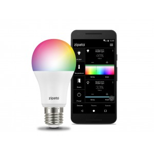 Zipato RGBW LED lamp Bulb 2